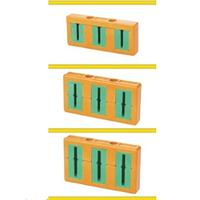 Зажим для кабеля - Дл. 50-120-тол. 5-10/один-два ряда три кабеля