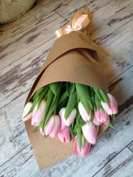 Крафт Бумага для упаковки цветов Оптом