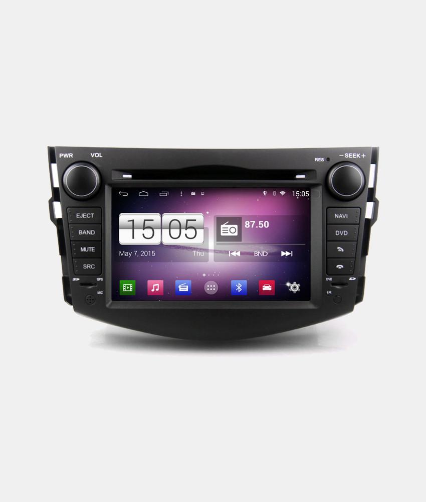 Автомагнитола Android 4.4.4 Winca s160 на Toyota Rav4 2006-12