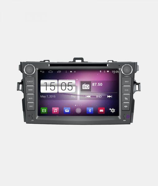 Автомагнитола Android 4.4.4 Winca s160 на Toyota Corolla  2007-13