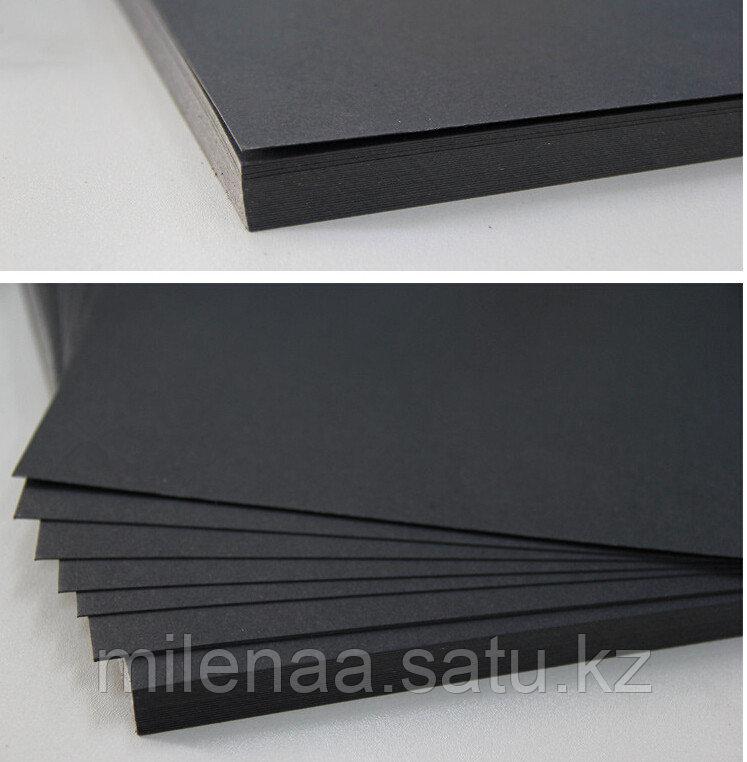 Чёрный Крафт Листами  50 листов упаковка