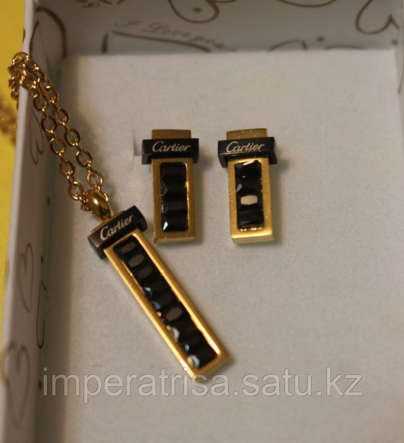 """Комплект из титана """"Классика"""" Cartier"""