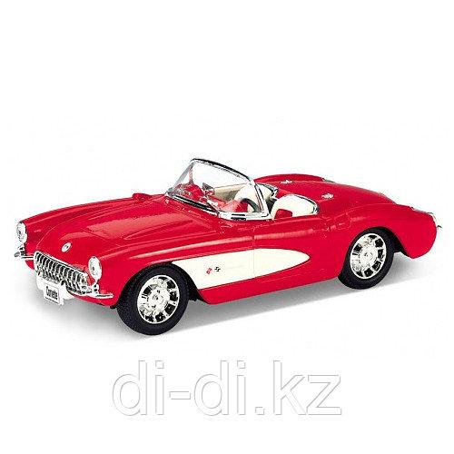 Игрушка модель винтажной машины 1:34-39 Chevrolet Corvette 1957