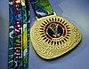 Спортивная медаль дуатлон Нур-Султан