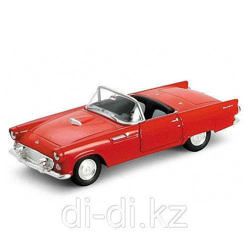 Игрушка модель винтажной машины 1:34-39 Ford Thunderbird 1955