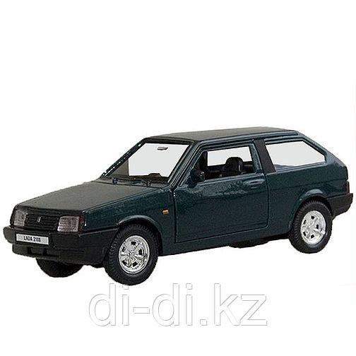 Игрушка модель машины 1:34-39 LADA 2108
