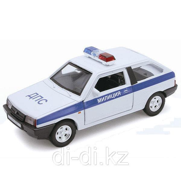 Игрушка модель машины 1:34-39 LADA 2108 МИЛИЦИЯ ДПС