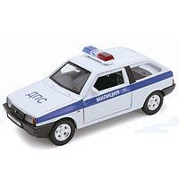 Игрушка модель машины 1:34-39 LADA 2108 МИЛИЦИЯ ДПС, фото 1