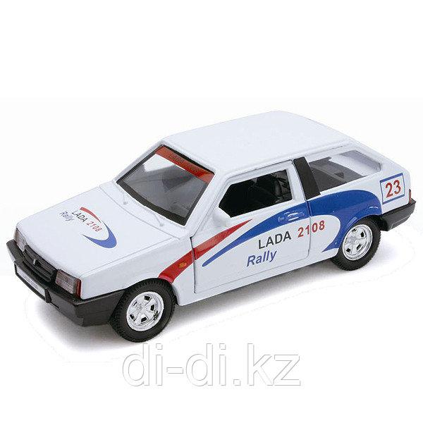 Игрушка модель машины 1:34-39 LADA 2108 Rally