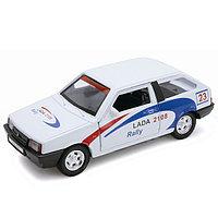 Игрушка модель машины 1:34-39 LADA 2108 Rally, фото 1