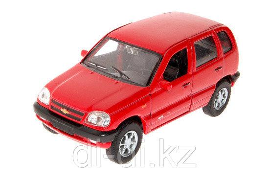 Игрушка модель машины 1:34-39 Chevrolet Niva