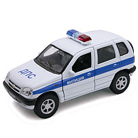 Игрушка модель машины 1:34-39 Chevrolet Niva МИЛИЦИЯ ДПС, фото 1