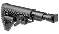 Fab defense Приклад телескопический, складной FAB-Defense М4-SAIGA SB для САЙГА/AK с компенсатором отдачи
