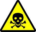 """Знак """"Опасно.  Ядовитые вещества"""", фото 2"""