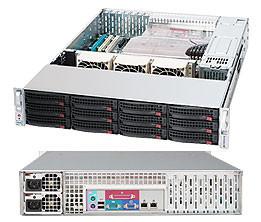 Корпус серверный Supermicro CSE-826E16-R500LPB