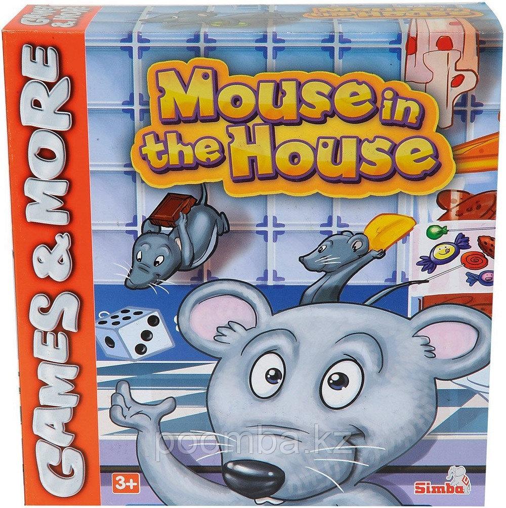 """Игра настольная""""Мышка в домике"""""""