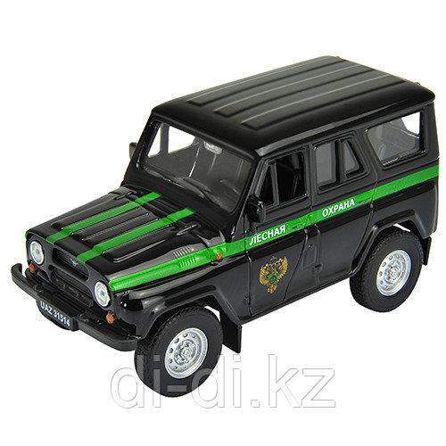 Игрушка модель машины УАЗ  31514 ЛЕСНАЯ ОХРАНА