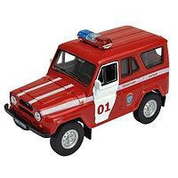 Игрушка модель машины 1:34-39 УАЗ 31514 ПОЖАРНАЯ ОХРАНА, фото 1