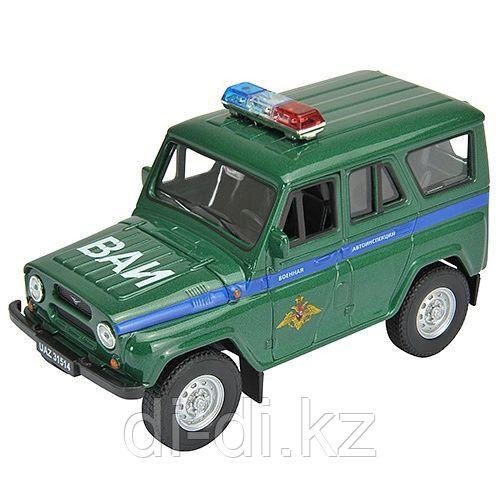 Игрушка модель машины 1:34-39 УАЗ  31514 ВОЕННАЯ АВТОИНСПЕКЦИЯ