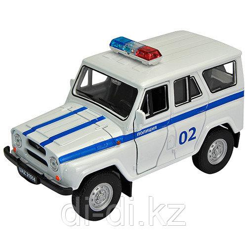 Игрушка модель машины 1:34-39 УАЗ 31514 ПОЛИЦИЯ
