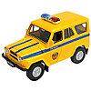 Игрушка модель машины 1:34-39 УАЗ 31514 МИЛИЦИЯ