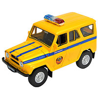 Игрушка модель машины 1:34-39 УАЗ 31514 МИЛИЦИЯ, фото 1