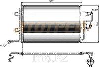 Радиатор VW BORA/JETTA 98-06