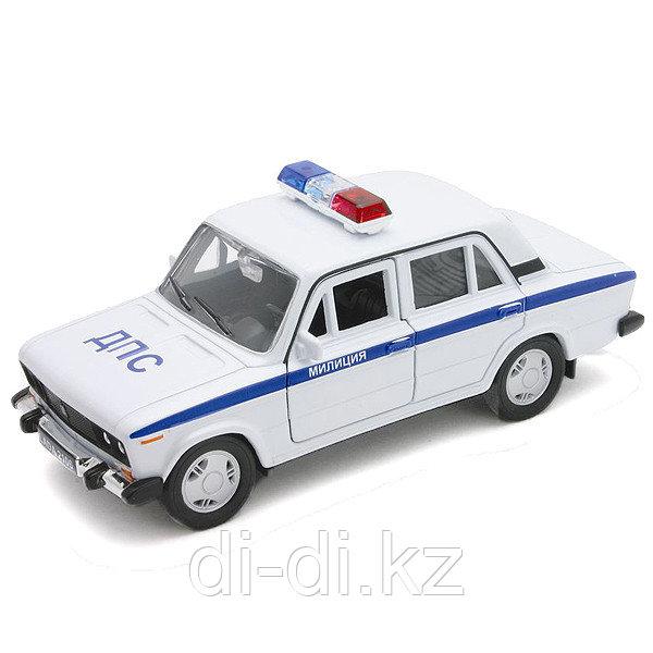 Игрушка модель машины 1:34-39 LADA 2106 МИЛИЦИЯ ДПС