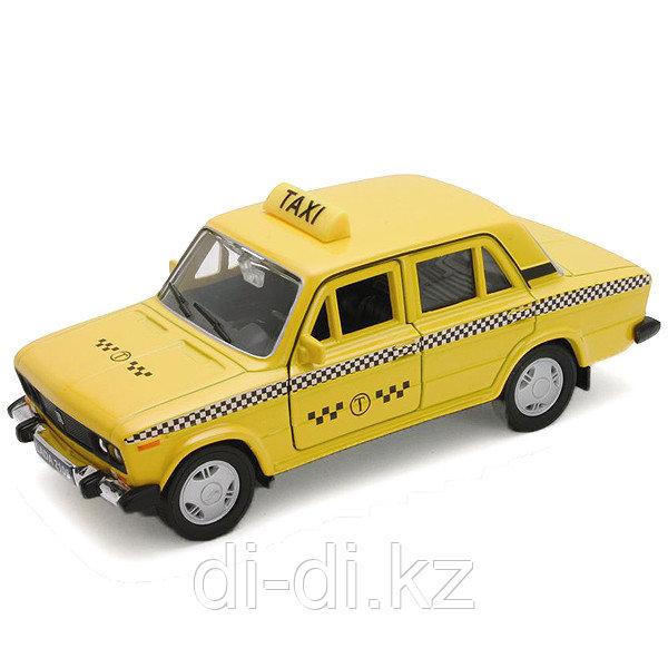 Игрушка модель машины 1:34-39 LADA 2106 ТАКСИ