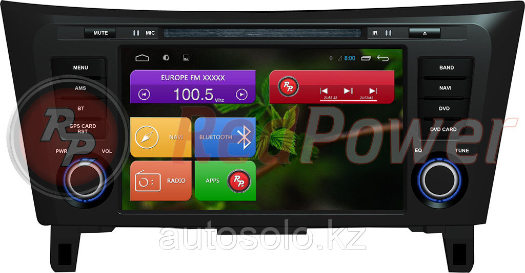 Автомагнитола Redpower Nissan X-trail, Qashqai 2014 на Android