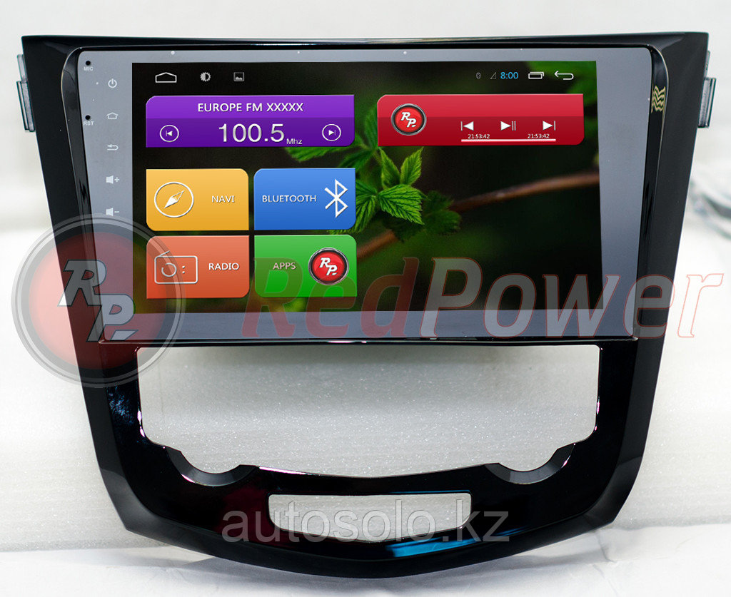 Автомагнитолы Redpower Nissan X-trail, Qashqai 2014 на Android