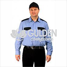 Рубашка форменная с длинным рукавом