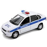 Игрушка модель машины 1:34-39 LADA Kalina МИЛИЦИЯ ДПС, фото 1