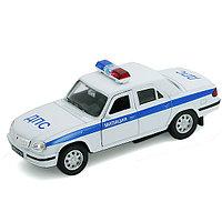 Игрушка модель машины 1:34-39 Волга МИЛИЦИЯ ДПС, фото 1