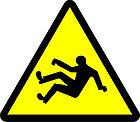 """Знак """"Осторожно. Возможность падения с высоты"""", фото 2"""