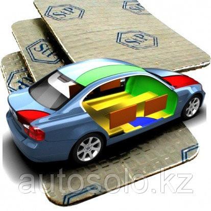 Профессиональная шумоизоляция автомобиля материалом StP