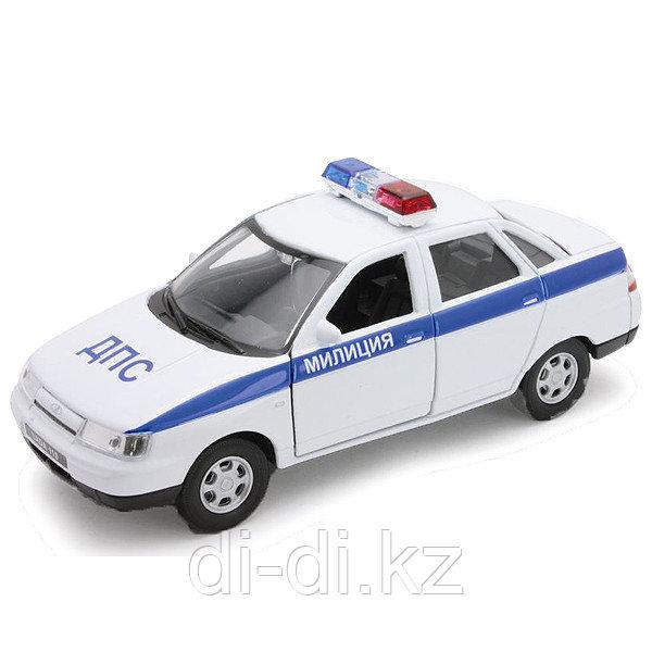 Игрушка модель машины 1:34-39 LADA 110 МИЛИЦИЯ ДПС