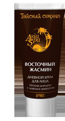 Крем для лица дневной, лифтинг эффект, против морщин, AsiaSpa, Восточный Жасмин, 50мл