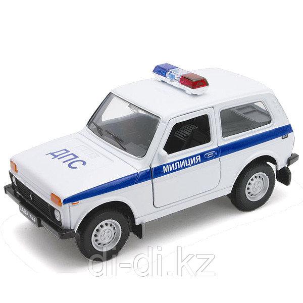 Игрушка модель машины 1:34-39 LADA 4x4 МИЛИЦИЯ ДПС