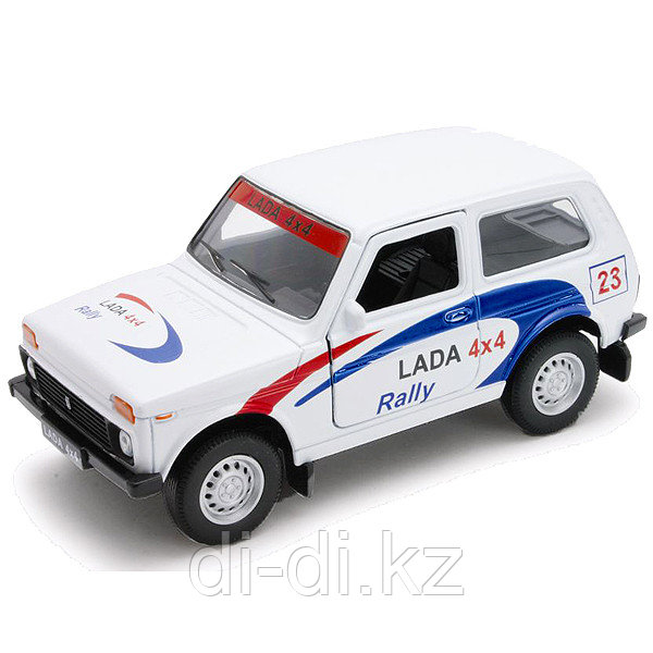 Игрушка модель машины 1:34-39 LADA 4x4 Rally