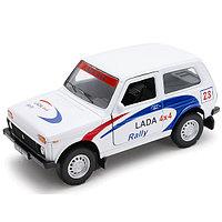 Игрушка модель машины 1:34-39 LADA 4x4 Rally, фото 1