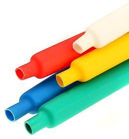 Цветные термоусадочные трубки с коэффициентом усадки 2:1 ТУТнг-12/6 ™КВТ