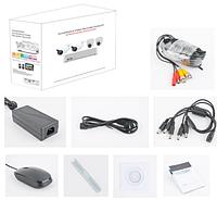 Комплект AHD видеонаблюдения на 4-камеры 720P QIHAN (QH-D5004HHHC-M340)