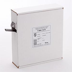 Термоусадочные черные трубки в компактной упаковке Т-BOX-6/3 (чер) ™КВТ