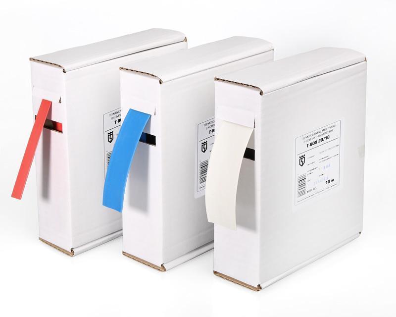 Термоусадочные цветные трубки в компактной упаковке Т-BOX-16/8  ™КВТ