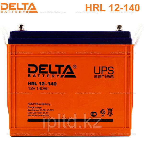 Delta аккумуляторная батарея HRL12-140