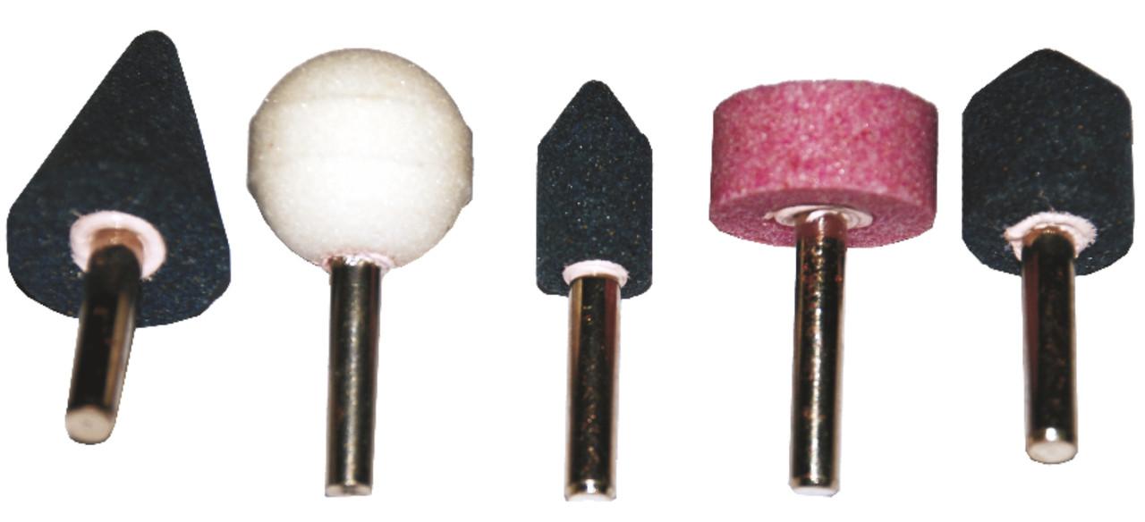 Набор шлифовальных камней, 3 мм, 5 штук
