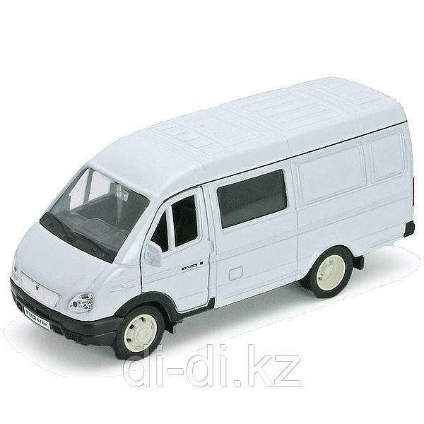 Игрушка модель машины 1:34-39 ГАЗель фургон с окном