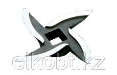 Нож с саблевидной режущей кромкой литой Аксион
