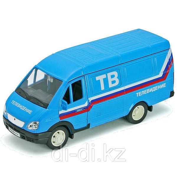 Игрушка модель машины 1:34-39 ГАЗель ТЕЛЕВИДЕНИЕ